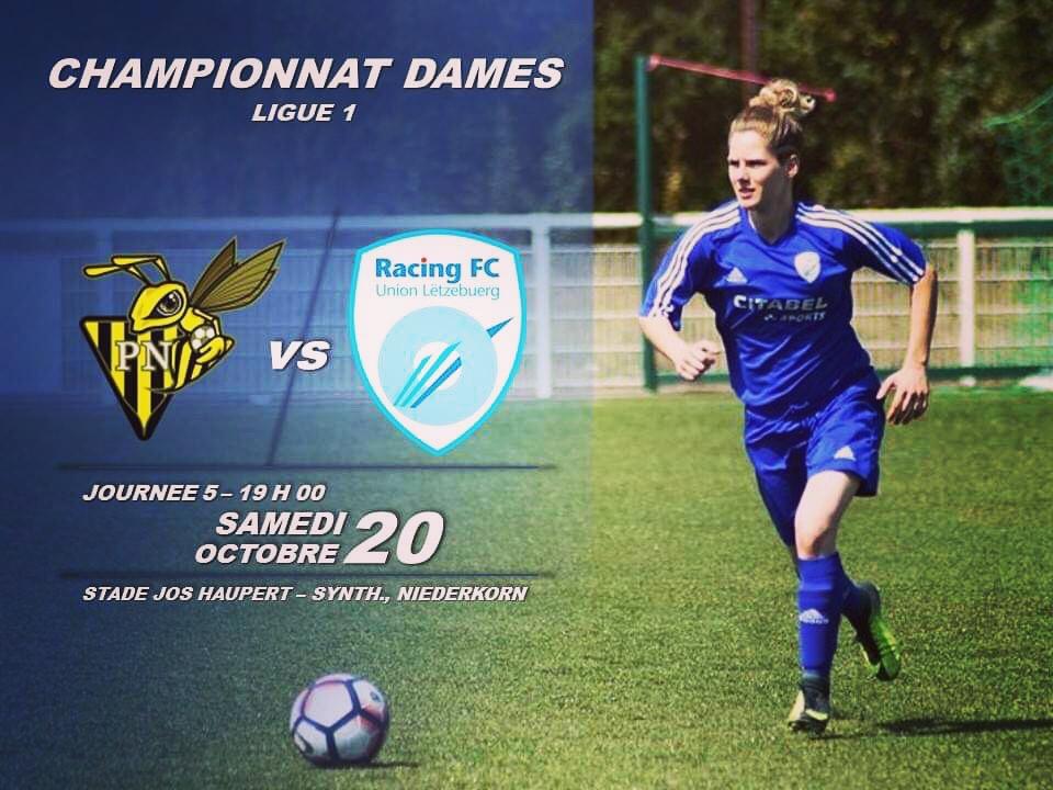 CHAMPIONNAT DAMES - JOURNÉE 5