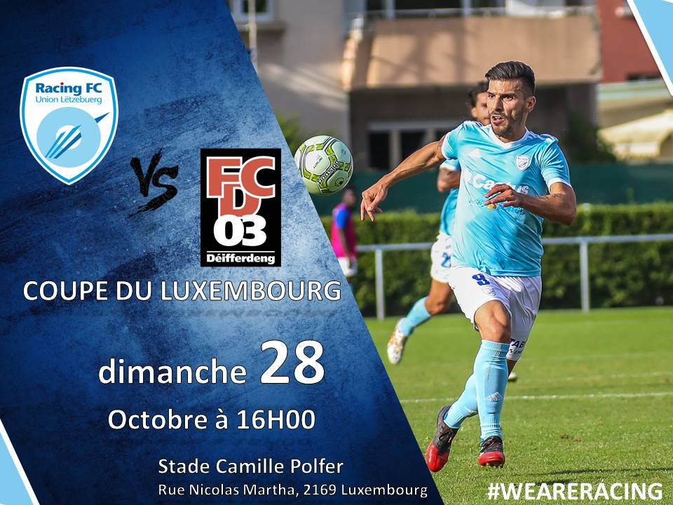 COUPE LUXEMBOURG LOTERIE NATIONALE    RACING vs DIFFERDANGE