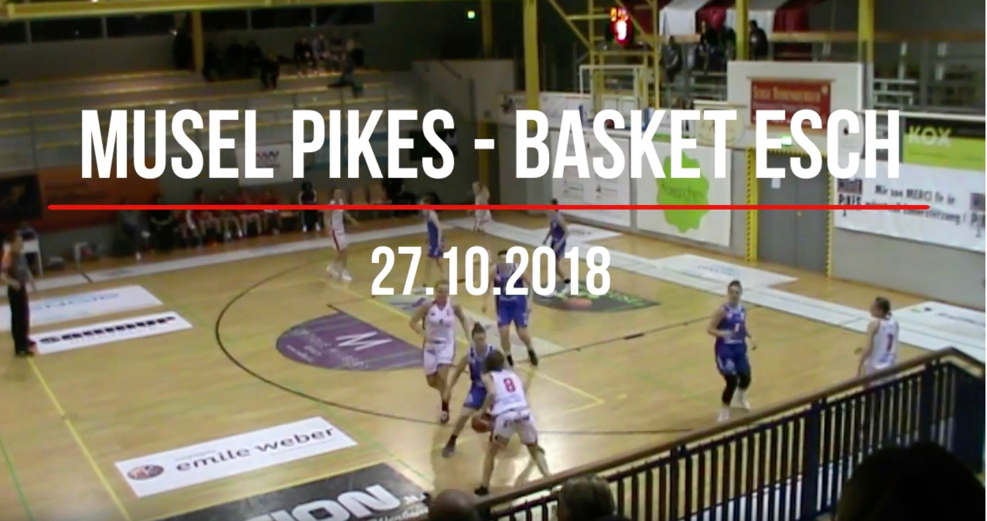 Videohighlights Women Pikes-Esch