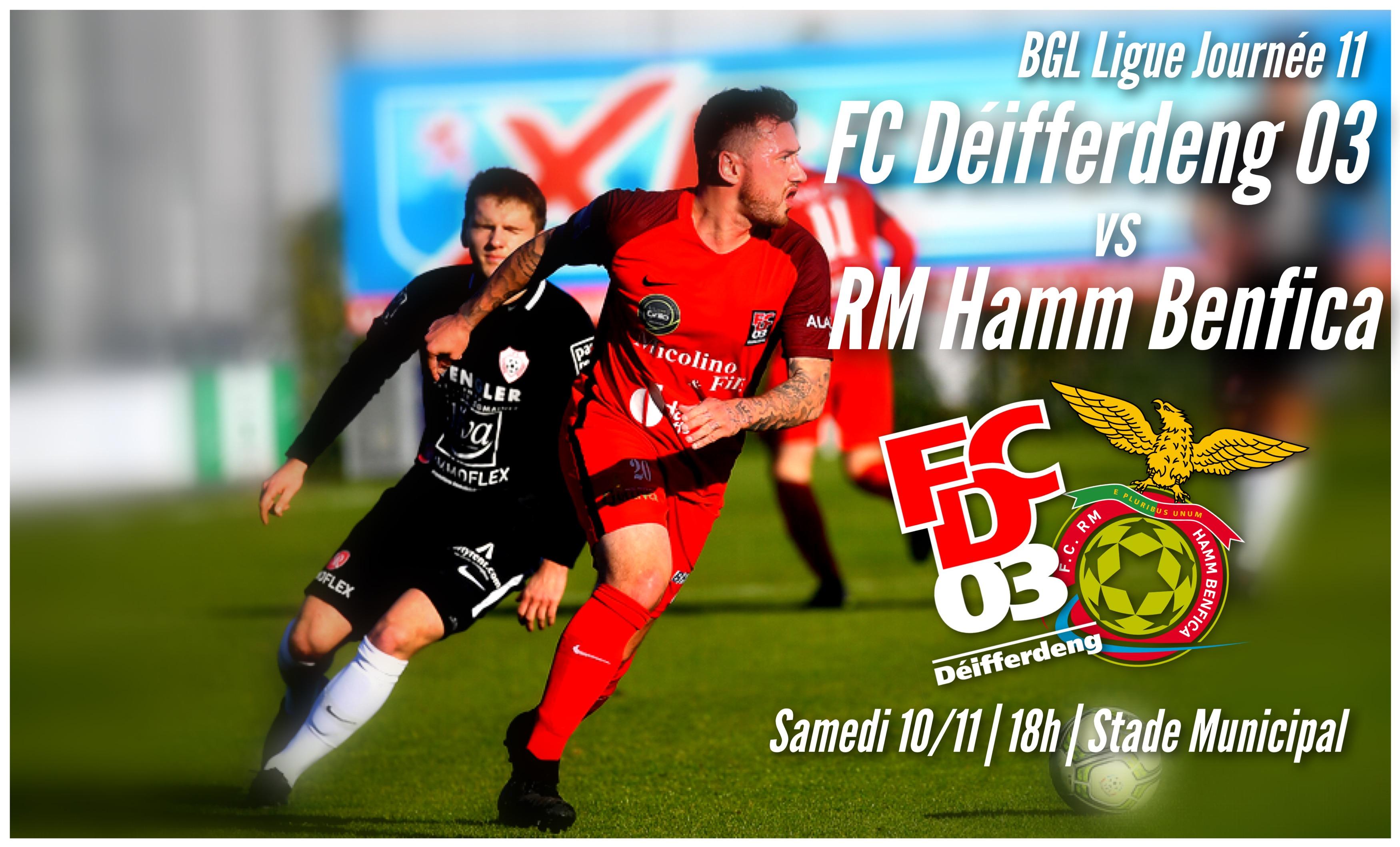 FC Déifferdeng 03 - RM Hamm Benfica