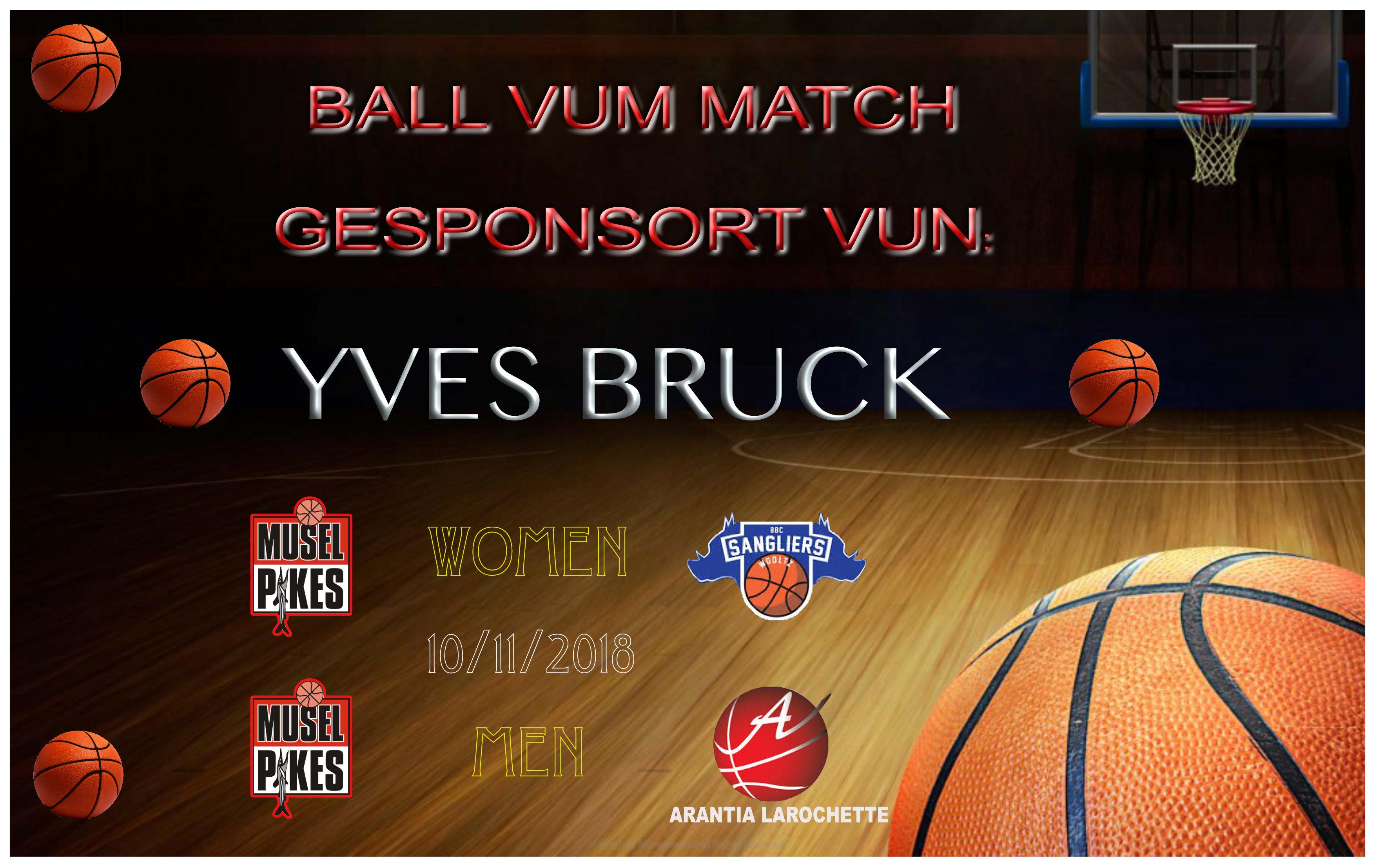 10/11/18 Ball vum Match: YVES BRUCK