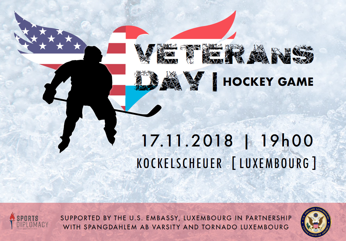 2018 Veterans Day Hockey Game