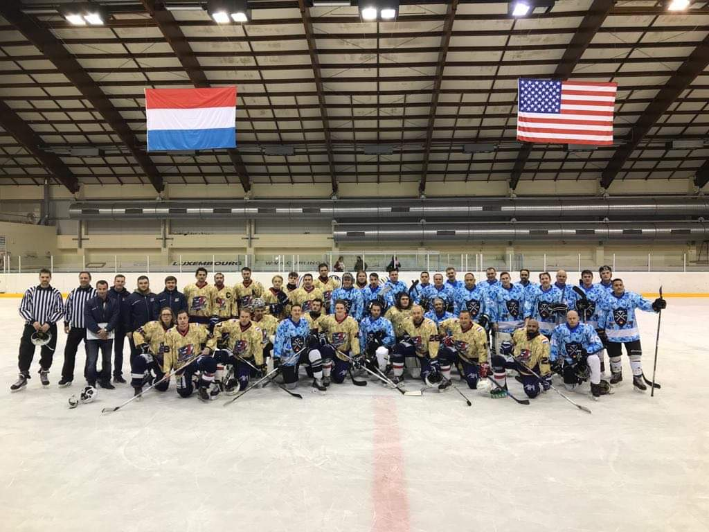 Veterans day game filled Kockelscheuer
