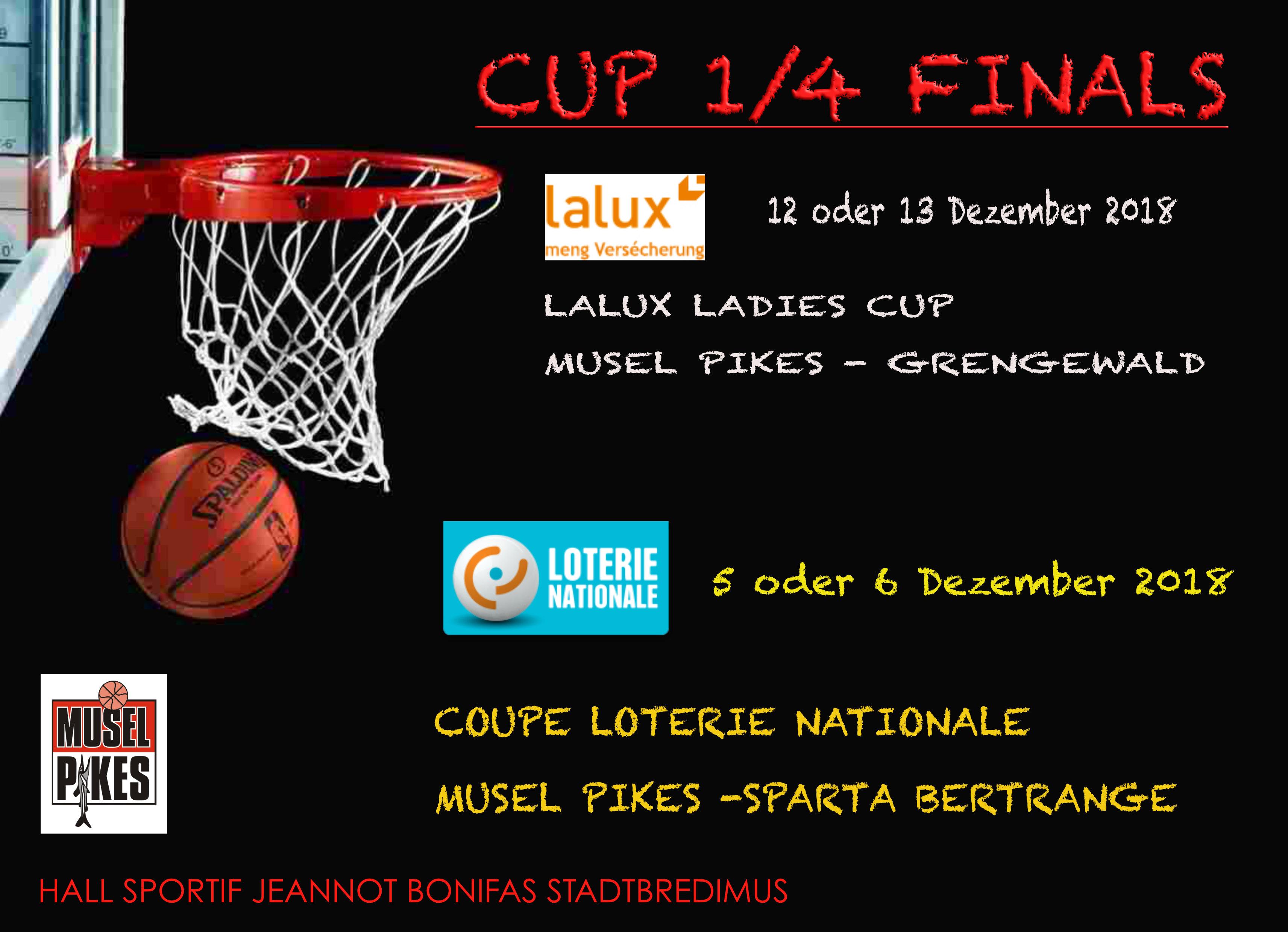 CUP 1/4 Finals