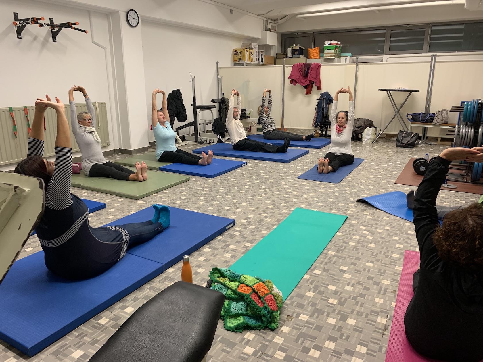 Entraînement Yoga au Judo et Jiu-Jitsu Dudelange