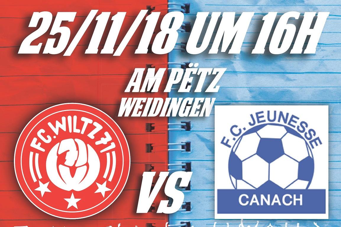 FC Wooltz 71  vs  FC Jeunesse Kanech