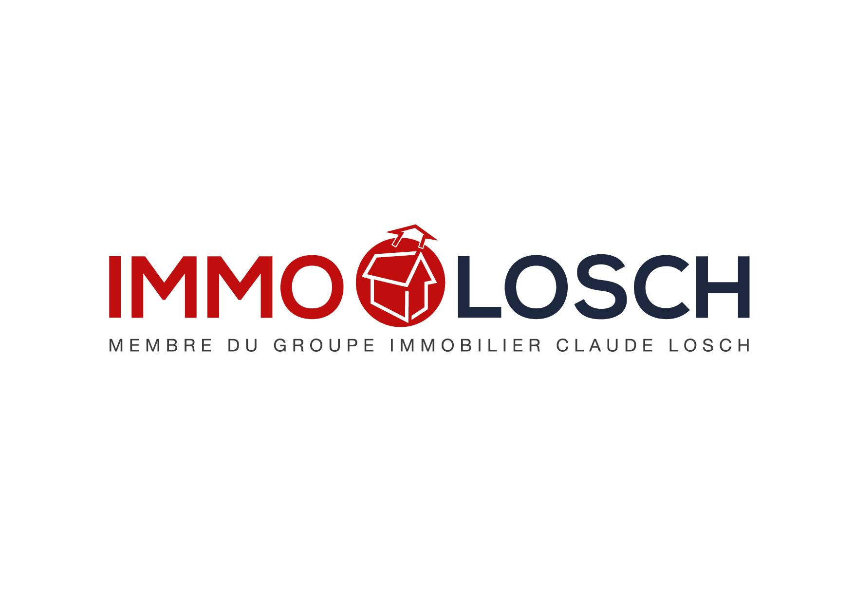 Immo Losch  neien Sponsor beim AB Contern  Merci fir ären Support