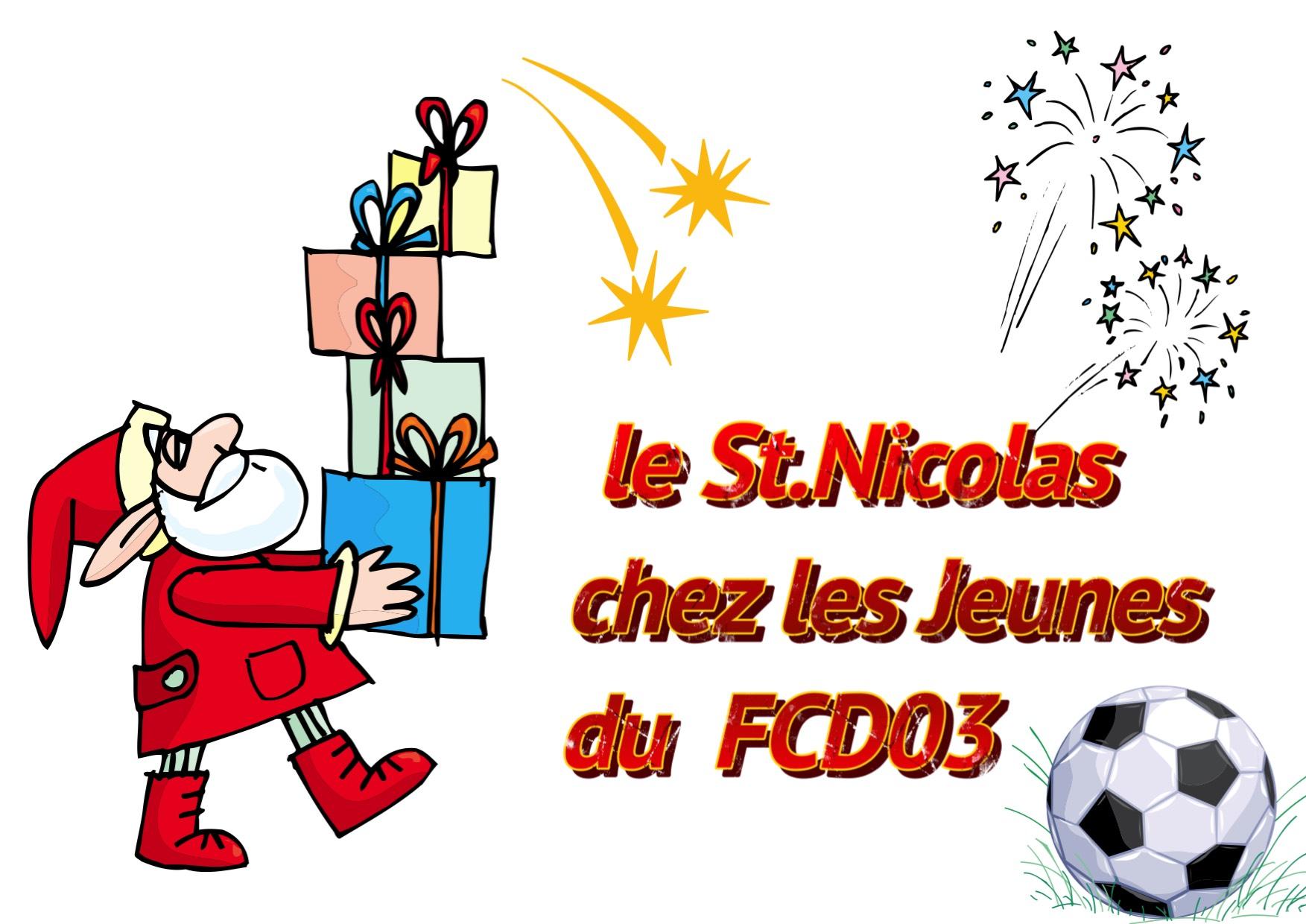 St.NICOLAS Chez les Jeunes  du FCD03