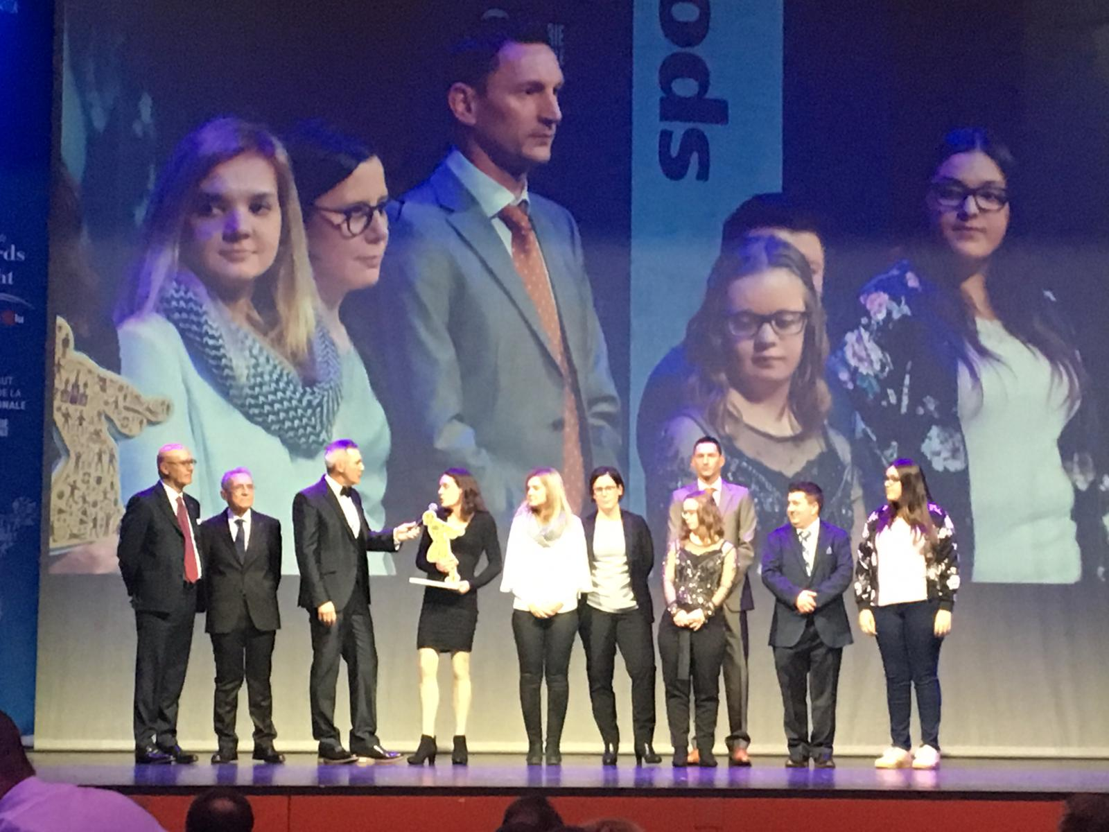 Prix Sport et Handicap pour Special Olympics Luxembourg Unified Sports
