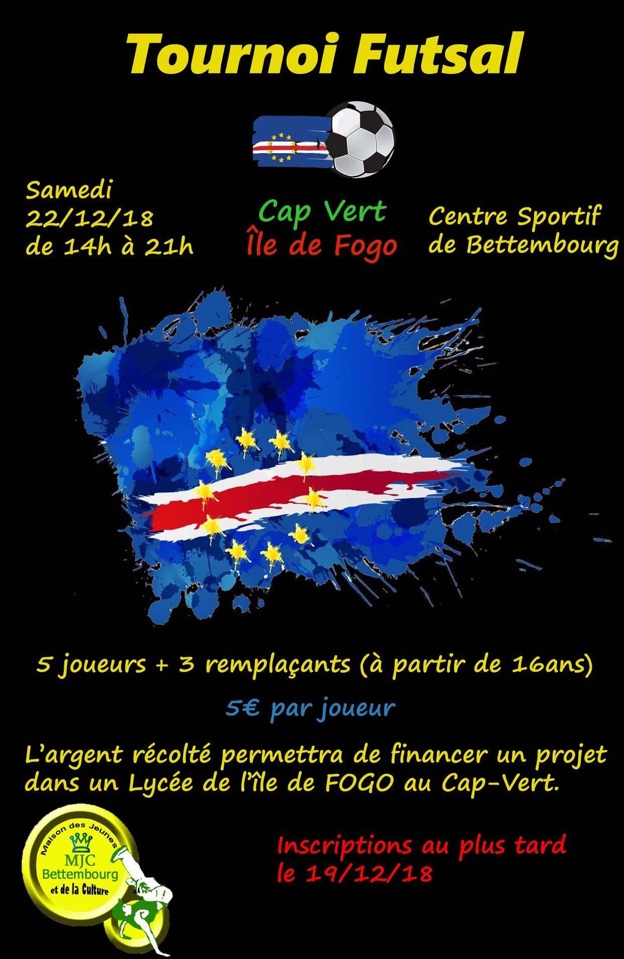 22/12/2018 - Tournoi Futsal