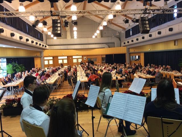 Concert  vun de MusicKids op der Seniorefeier