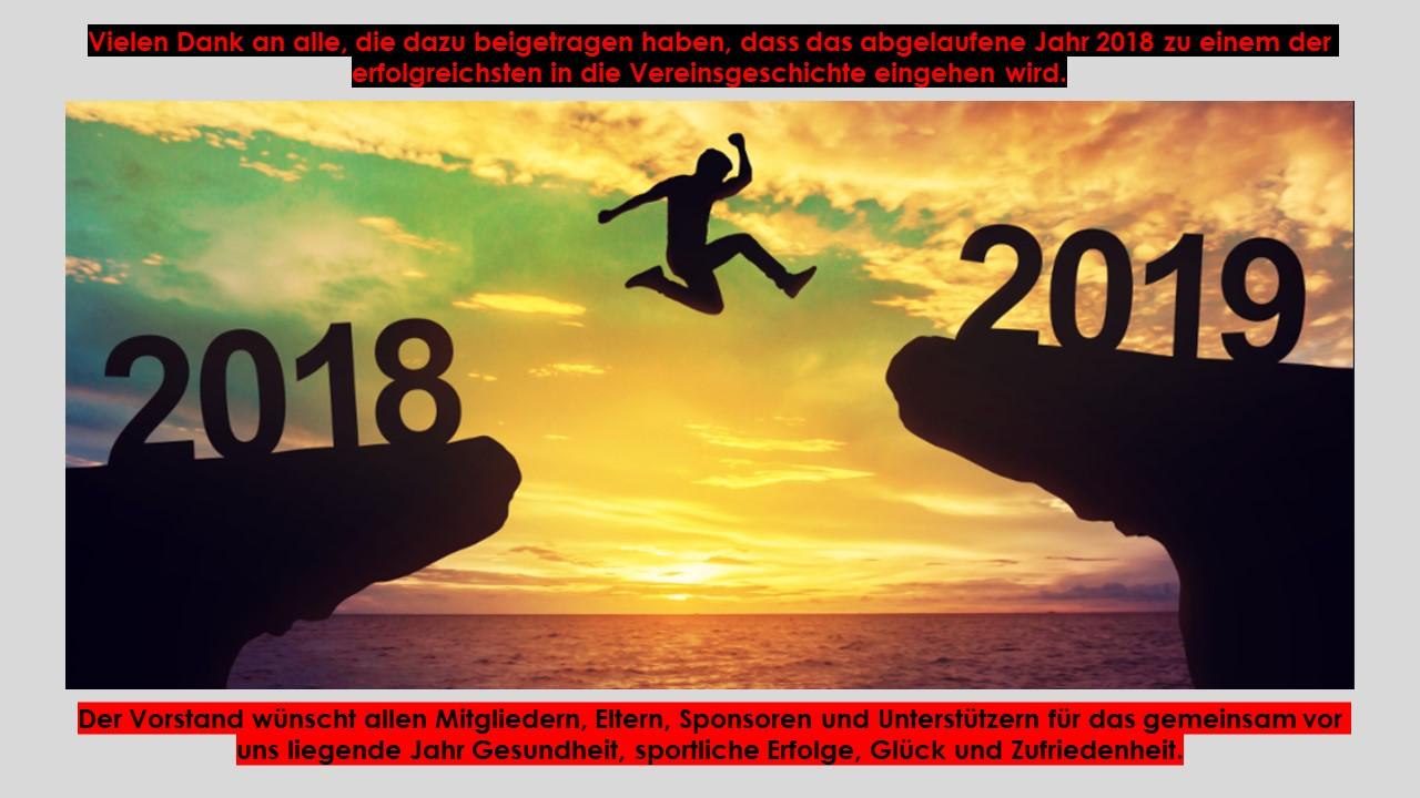 Jahreswechsel 2018-2019