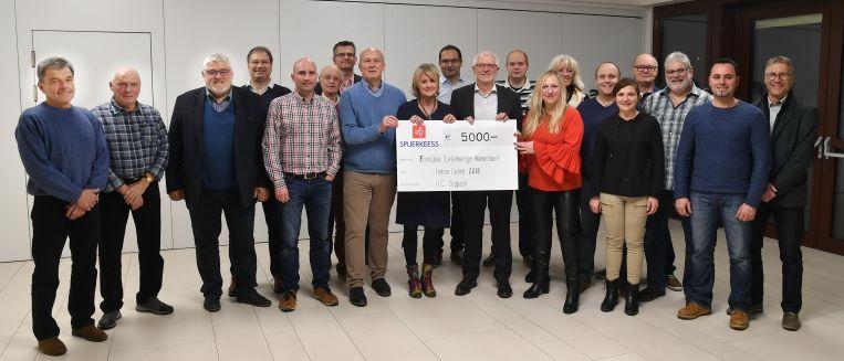 Indoorcycling 2018 - 5000€ vir d'Mierscher Kannerduerf