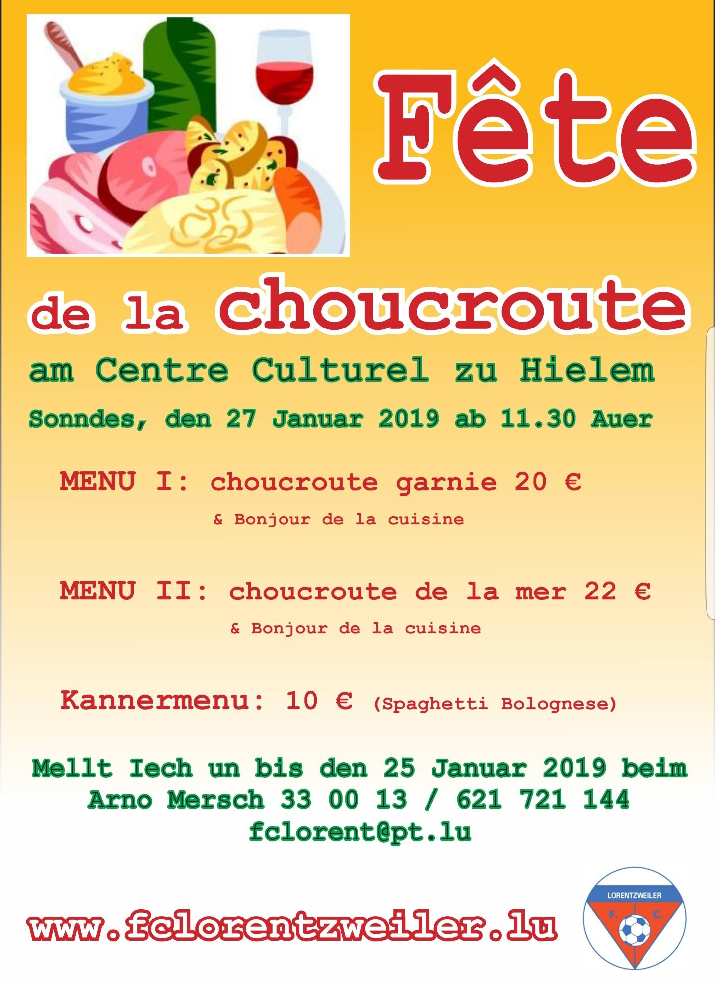 FETE DE LA CHOUCROUTE (powered by JP HOME CONCEPT s.àr.l., Ingeldorf)