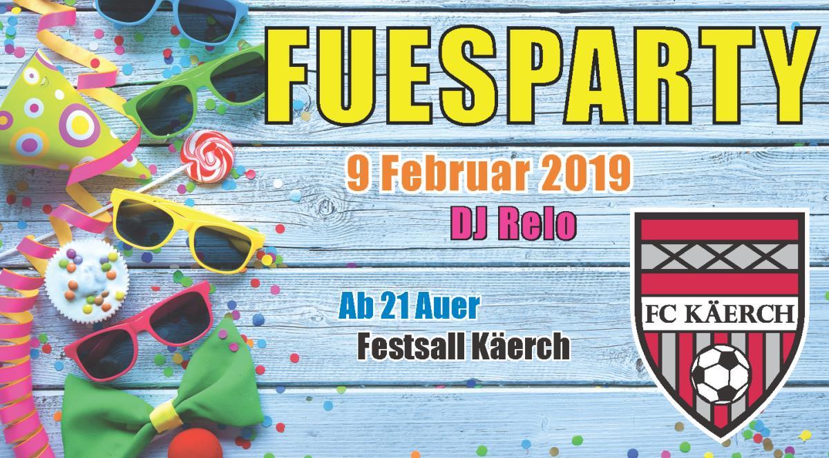 Fuesparty 2019