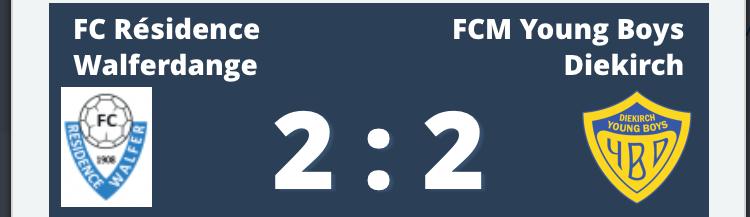 15/01/2019 Résultat Match Amical
