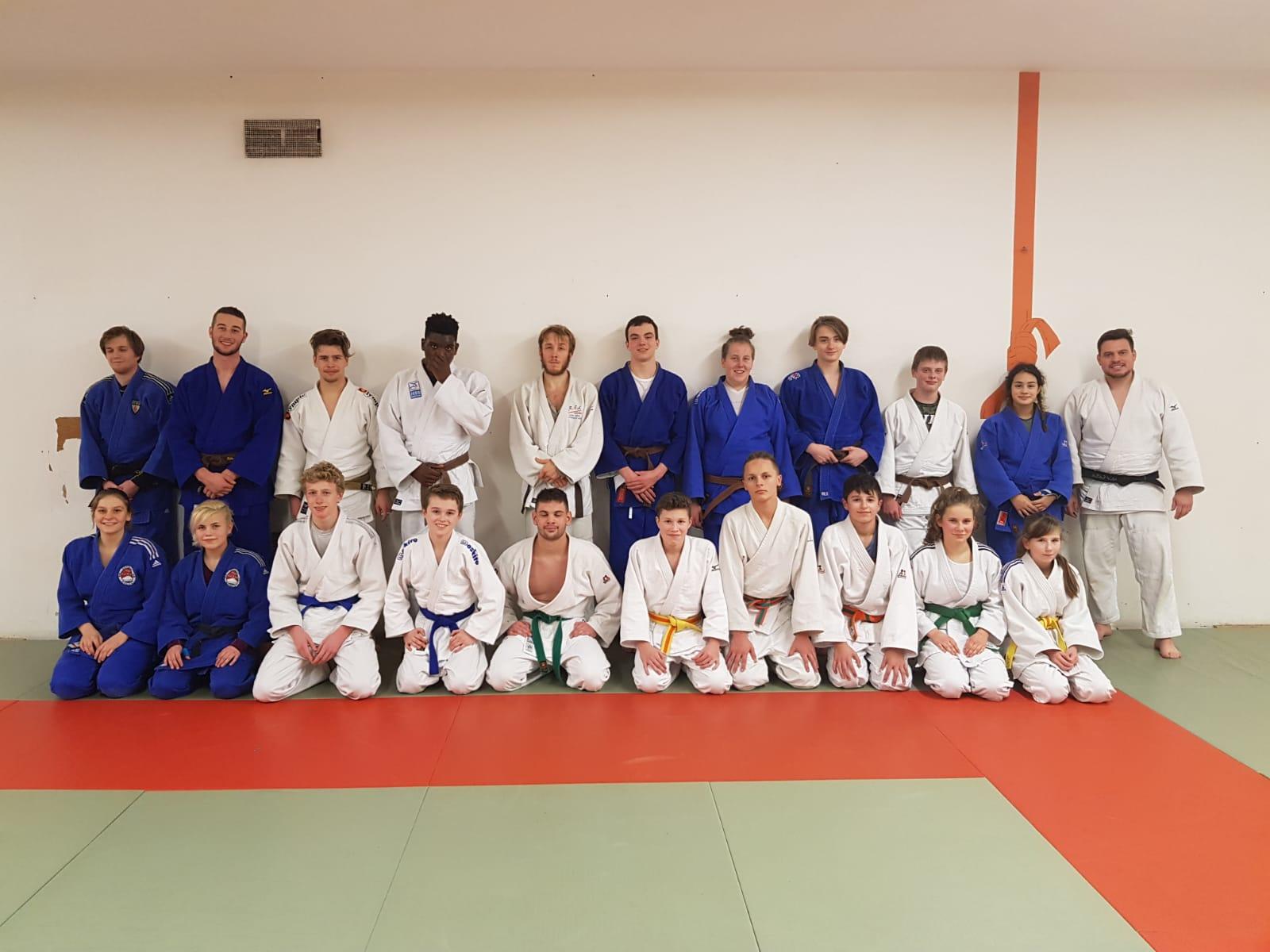 Auftaktveranstaltung zur Wiederaufnahme des regelmäßigen Landestrainings beim Saarländischen Judobund