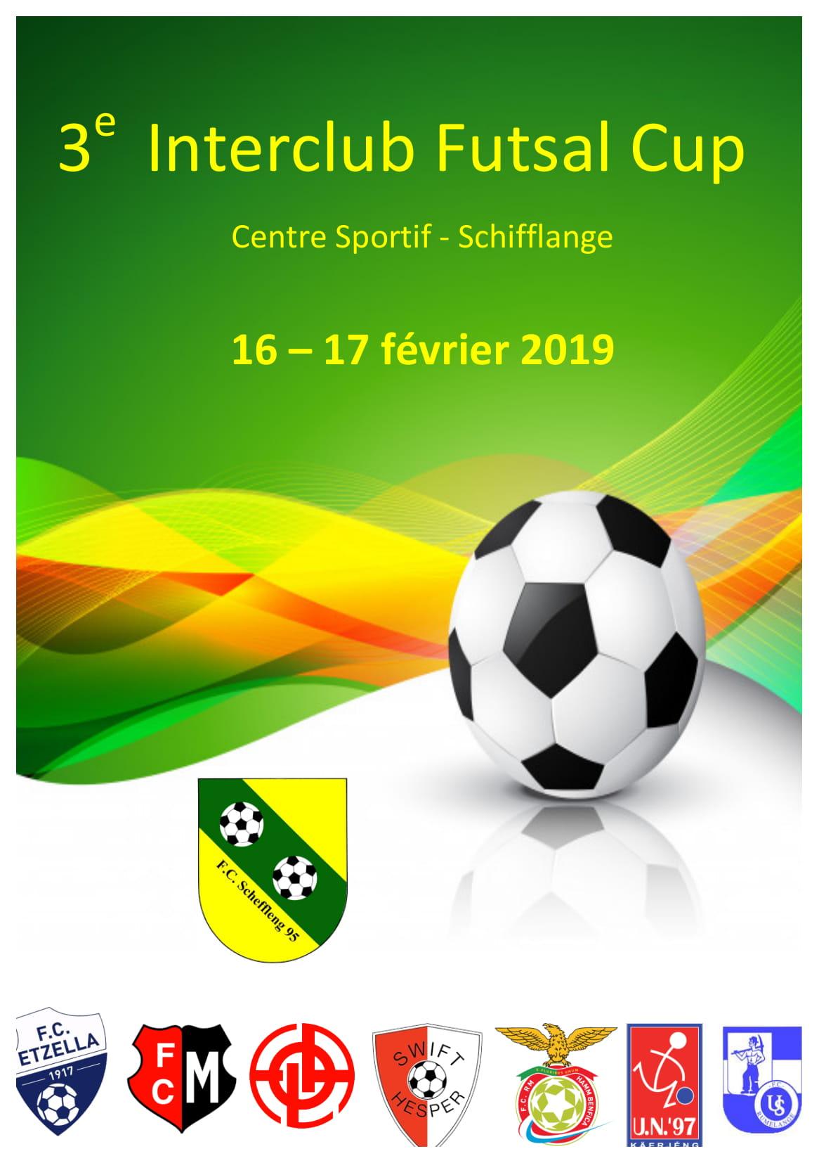 3. Interclub Futsal Cup 2019