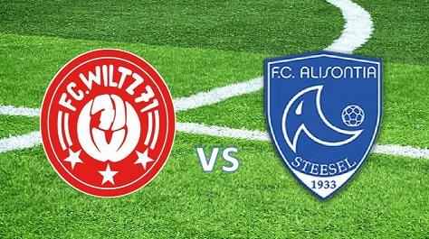 FC Wooltz 71 vs F.C. Alisontia Steesel