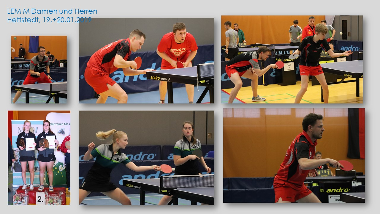 DJK TTV Biederitz mit drei Vizelandesmeistertiteln bei Landesmeisterschaften