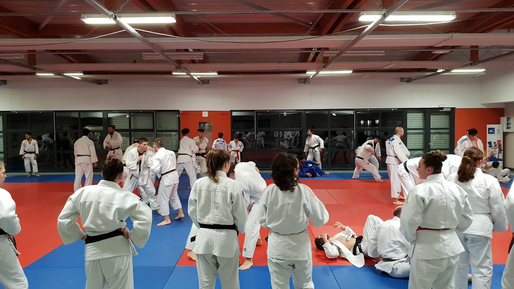 Interreg Judo Training - Saint Julien-les-Metz - 10.01.2019