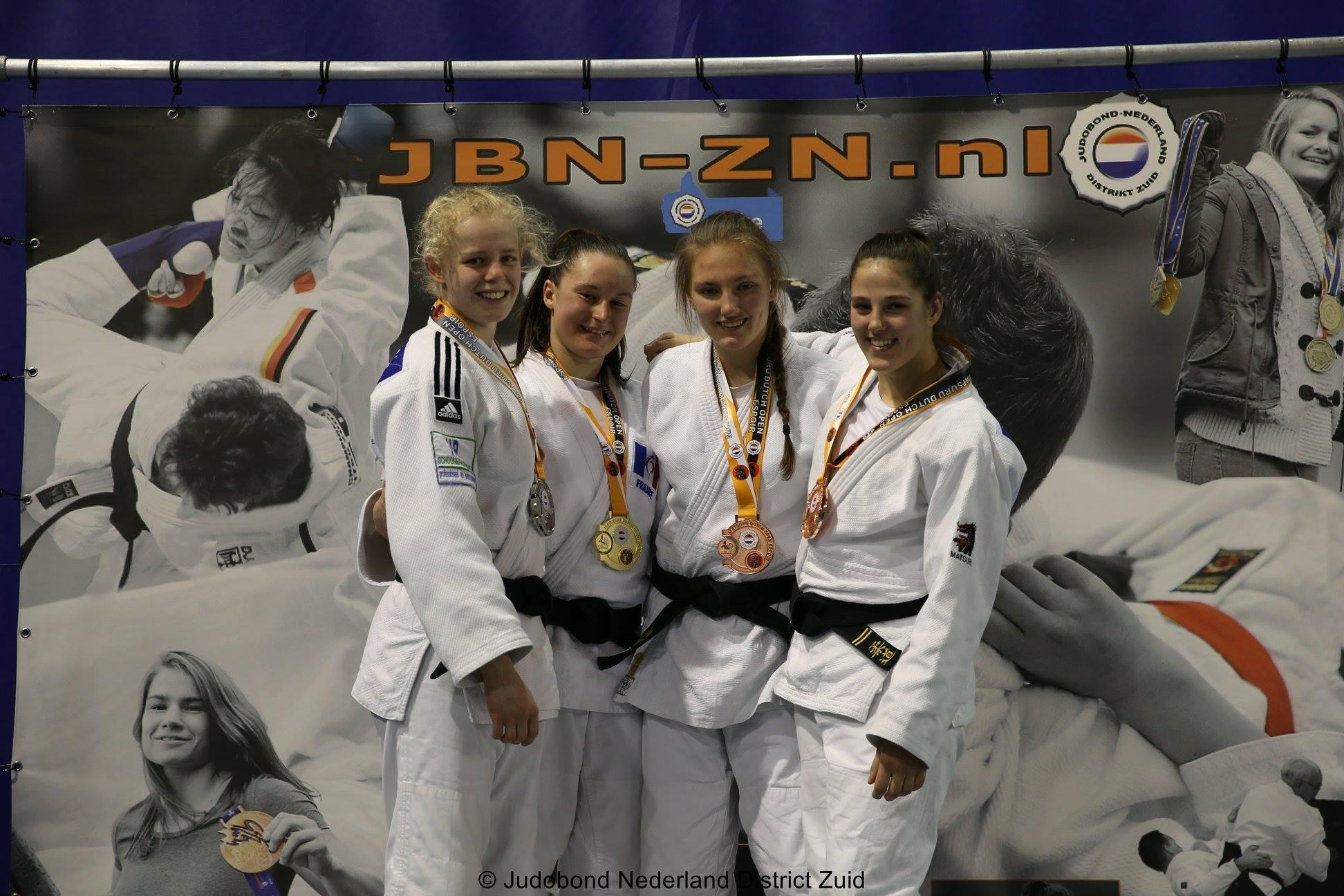 Interreg Judo Team - Dutch Open Eindoven (NED) - 12-13.01.2019