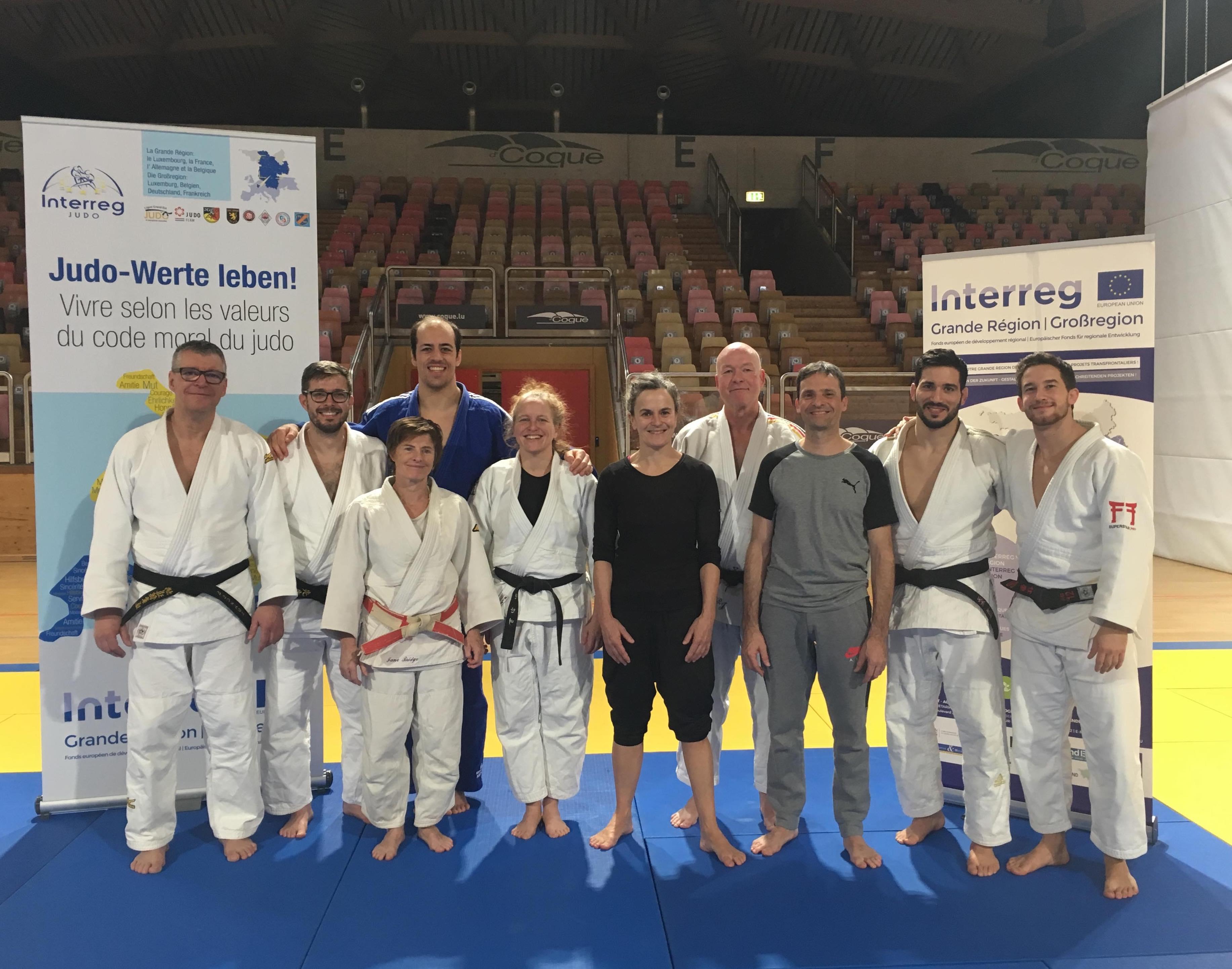 Interreg Judo Symposium - LTAD Luxembourg - 25-27.01.2019