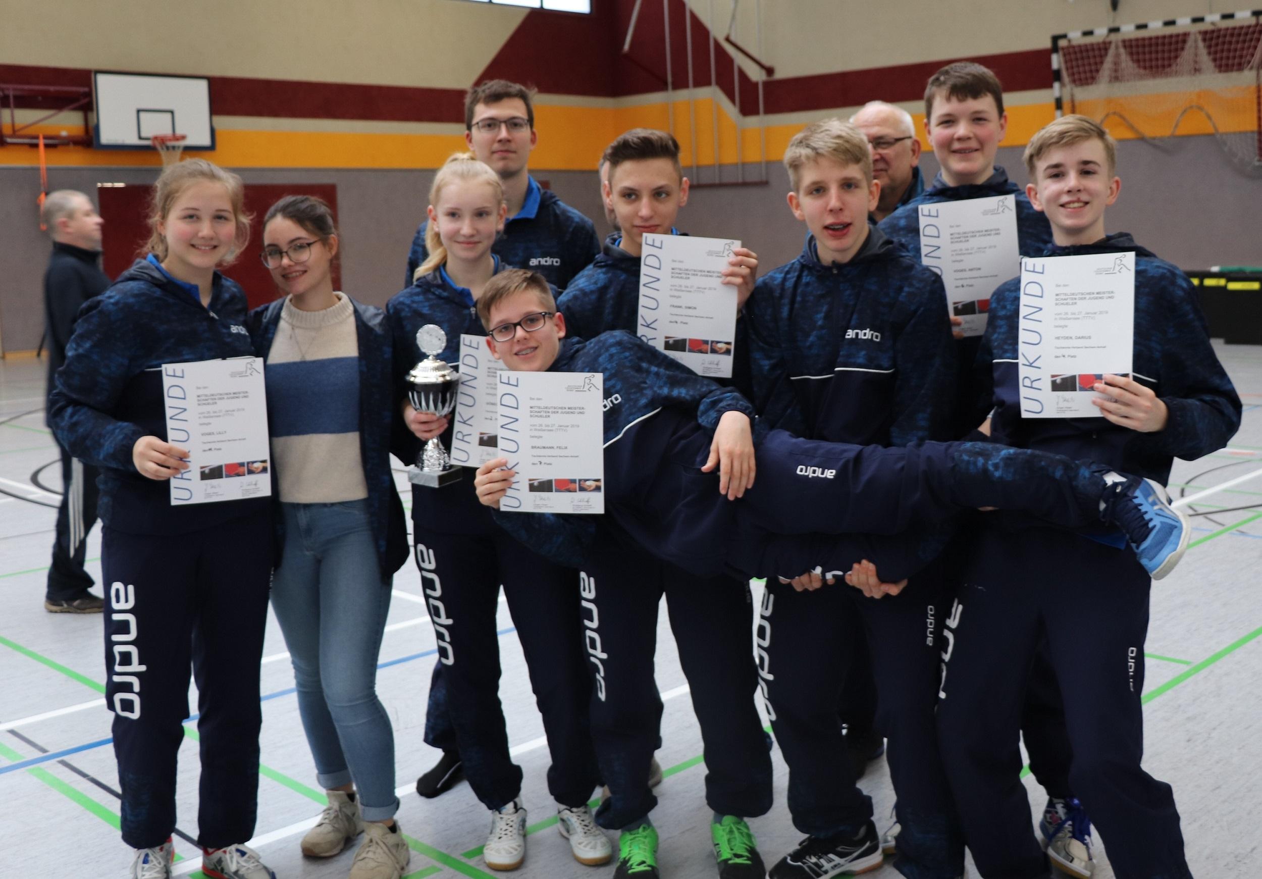 9 Starter der DJK Biederitz bei Mitteldeutschen Meisterschaften am Start
