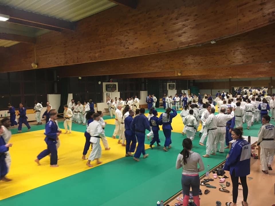 Interreg Judo Training Strasbourg - 29.01.2019