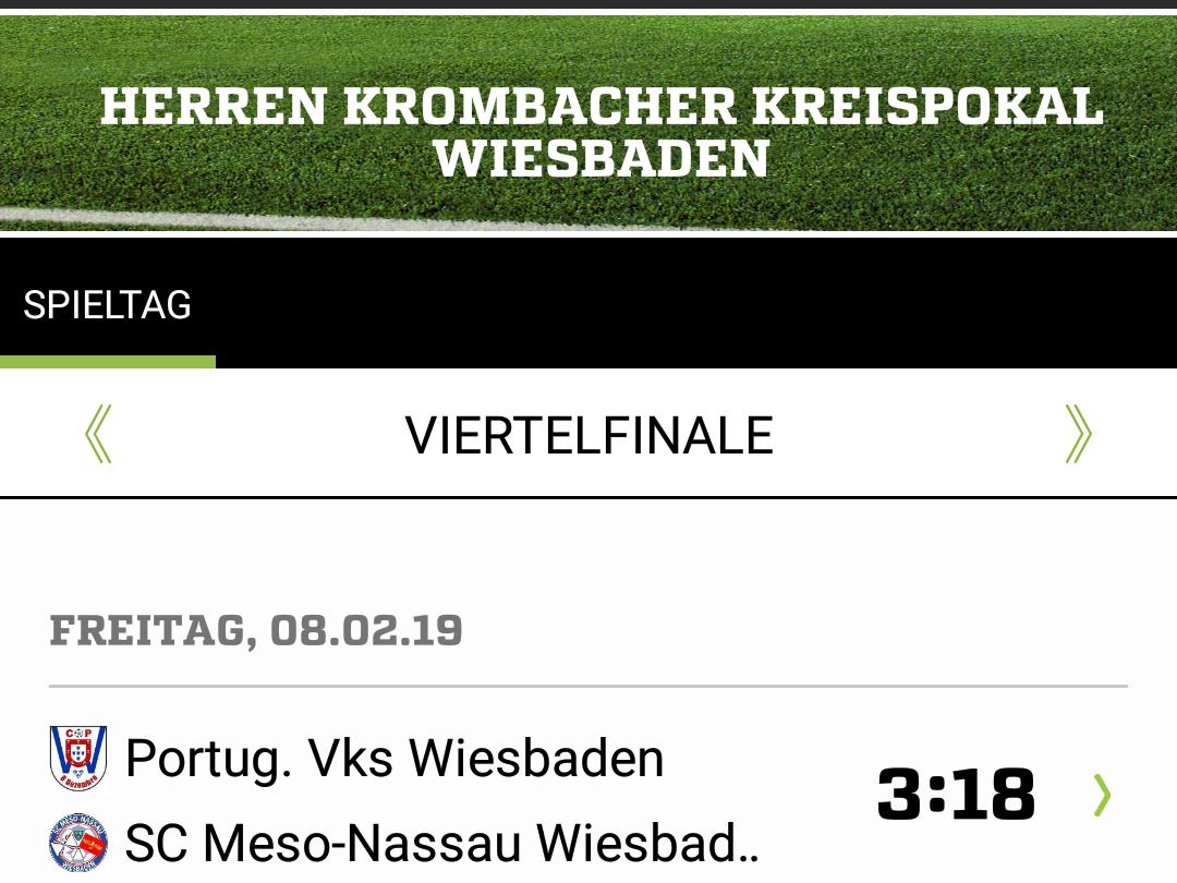 Pokal-Halbfinale souverän erreicht