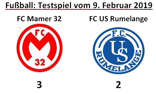 Testmatch FC Mamer32 - US Rumlange