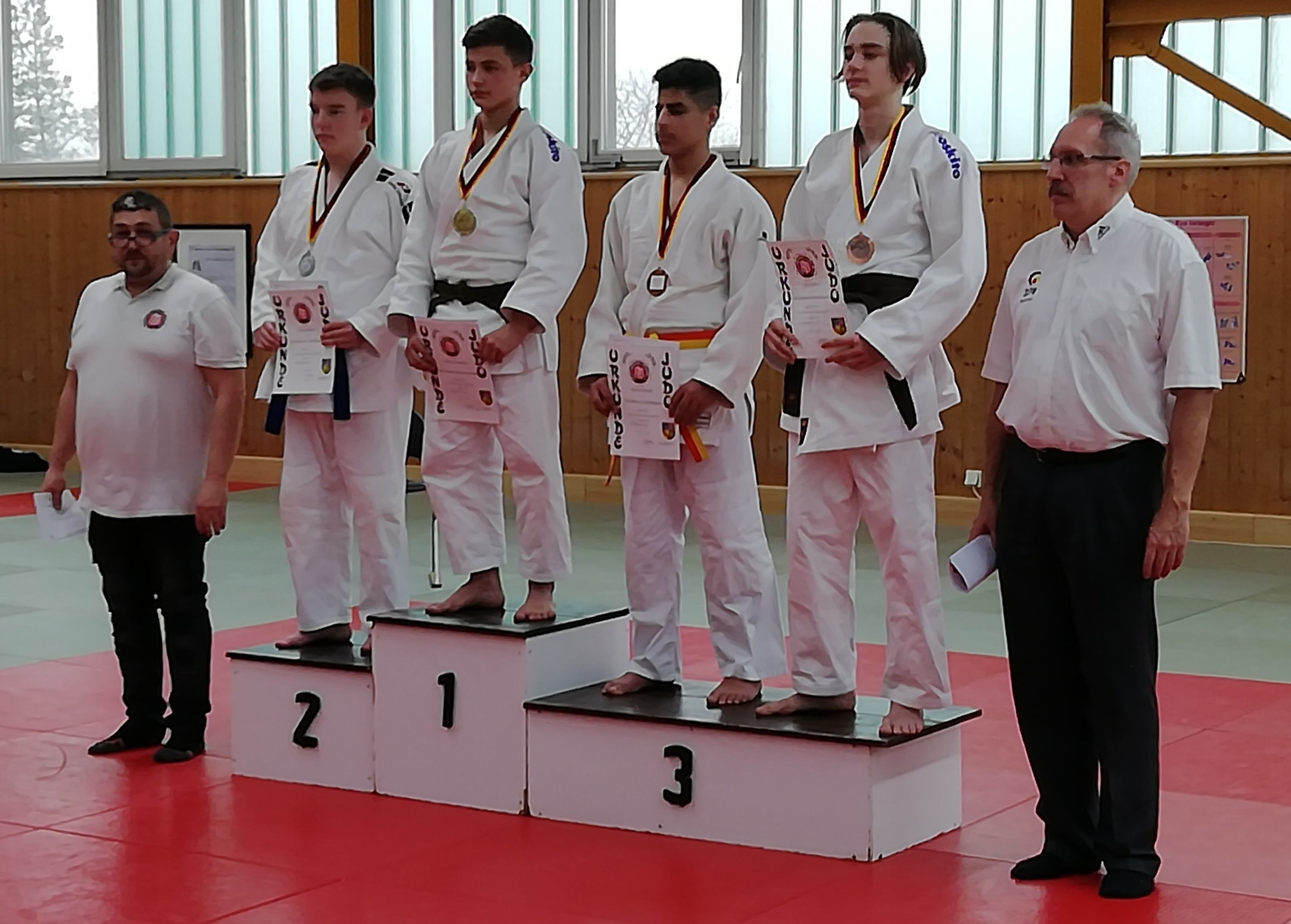 Saarlandmeisterschaft der U18 und U21 beim Judo-Kenshi in Homburg