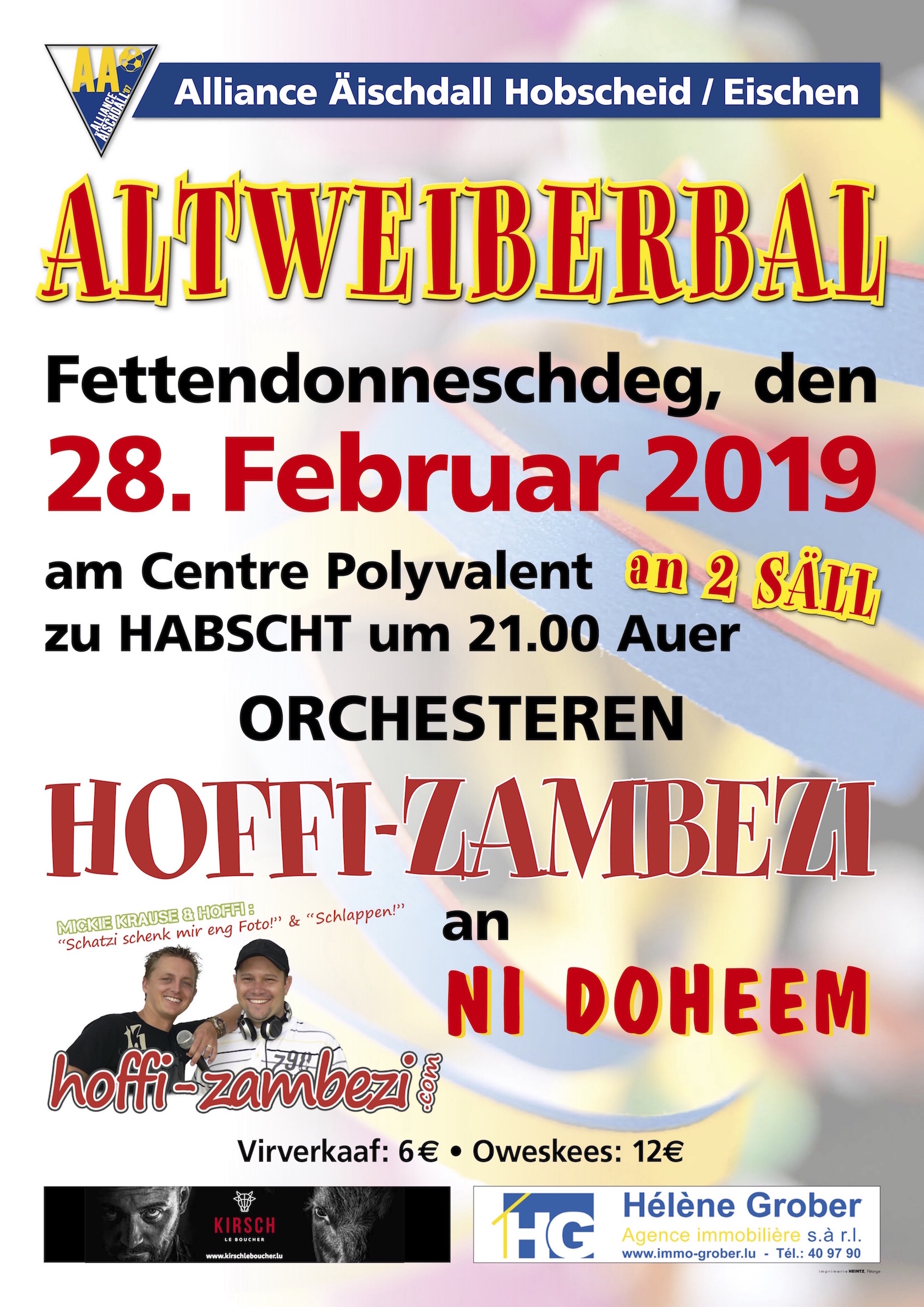 Altweiberbal 2019