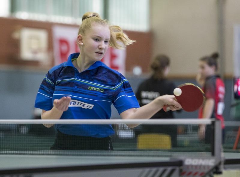 Lisa Göbecke beim Top 12 Bundesranglistenturnier