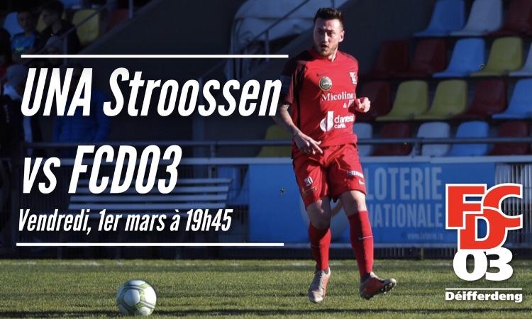 BGL Ligue | UNA Strassen - FCD03