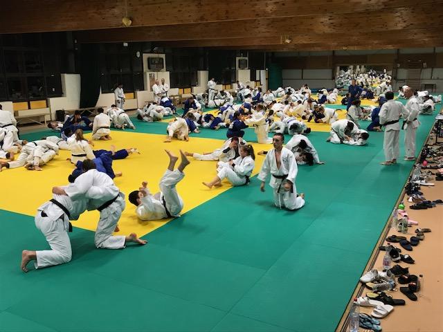 Interreg Judo Training Strasbourg 26.02.2019