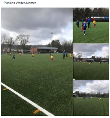 02/03/2019 Match Amical U9 Pupilles FC Résidence Walferdange 1908 - FC Mamer