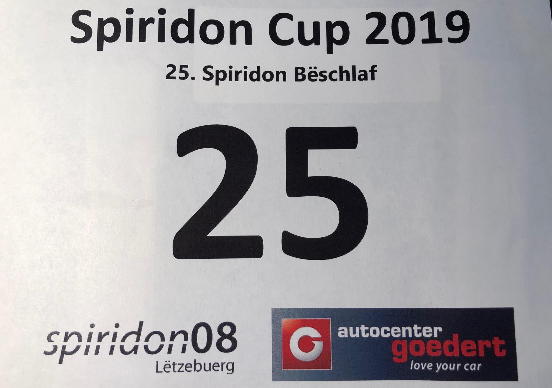 Spiridon Bëschlaf 2019 .... MERCI!