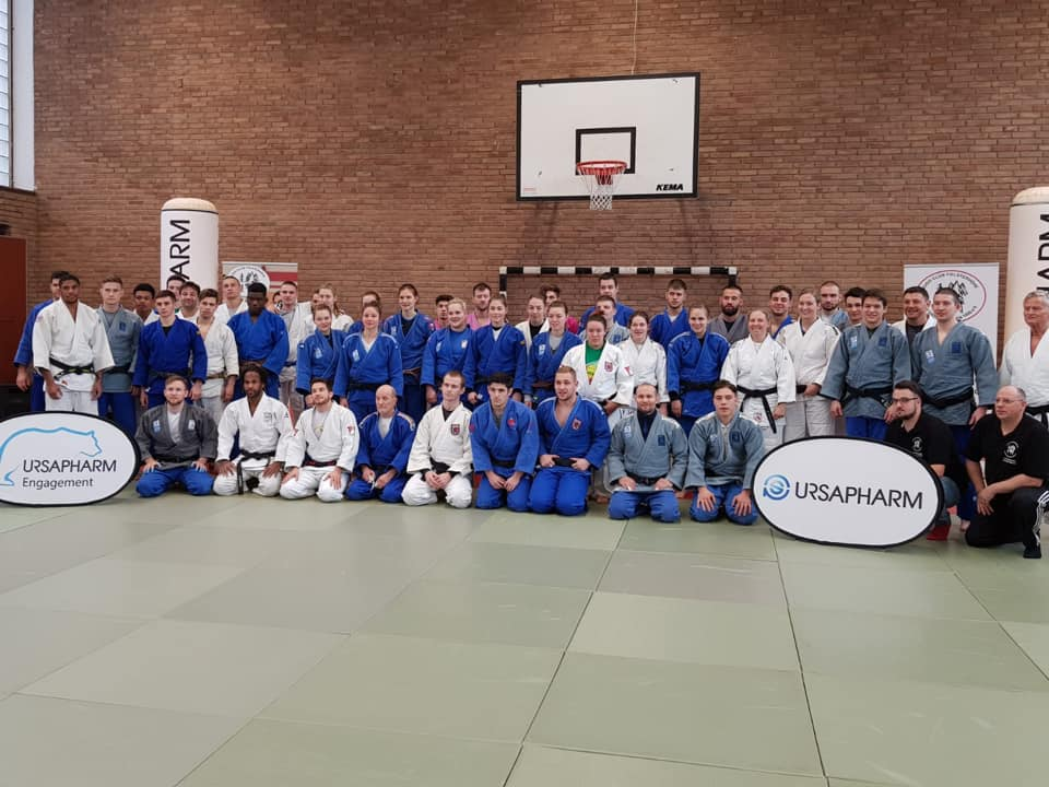 Interreg Judo Team - Training Saarbrücken 02.03.2019