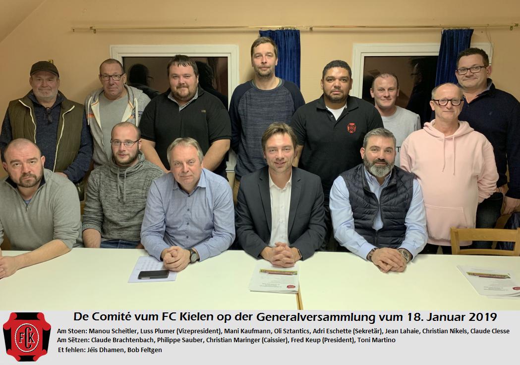 Bericht vun der Generalversammlung 2019