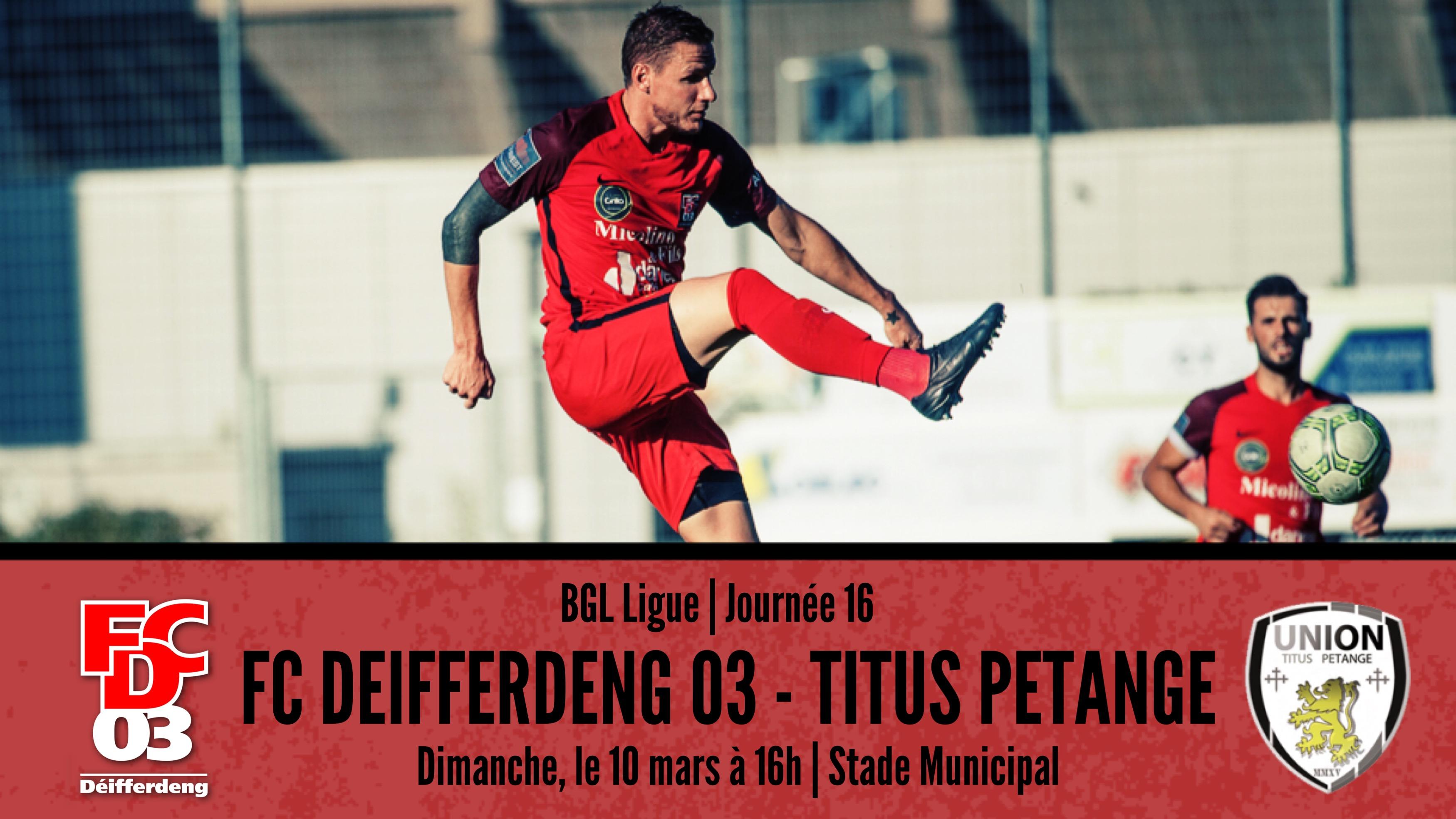 BGL Ligue FCD03 - UT Pétange