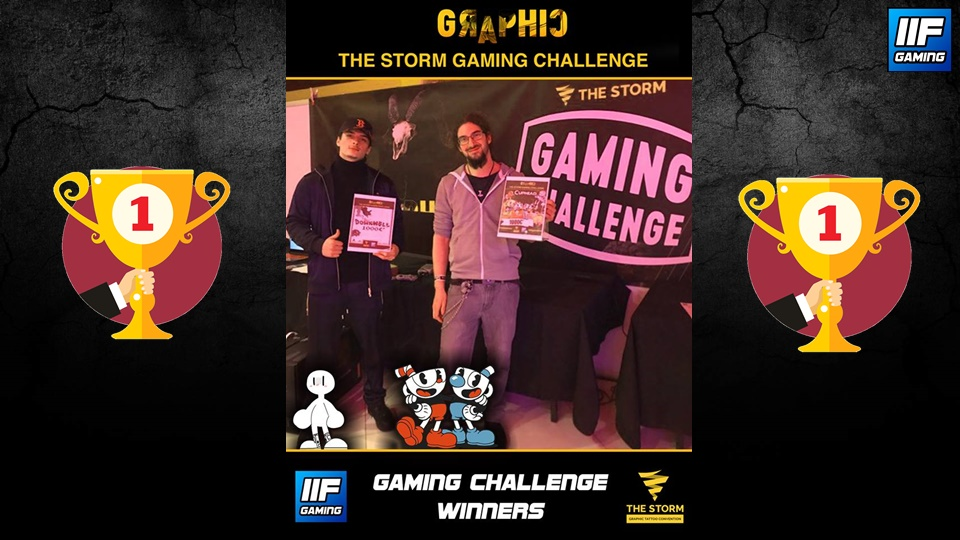 The Storm Gaming Challenge WINNERS