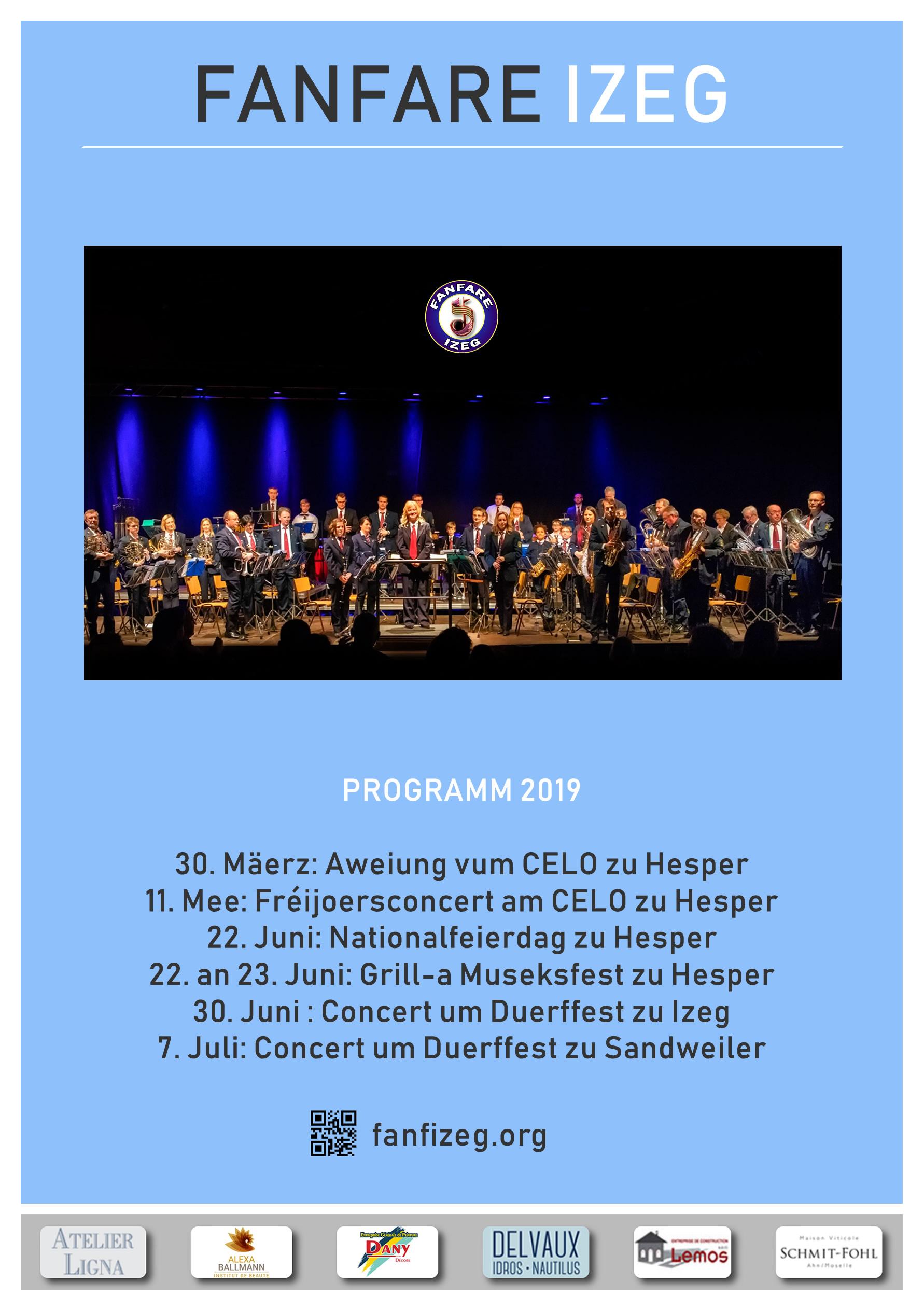 Fanfare Izeg Programm 2019