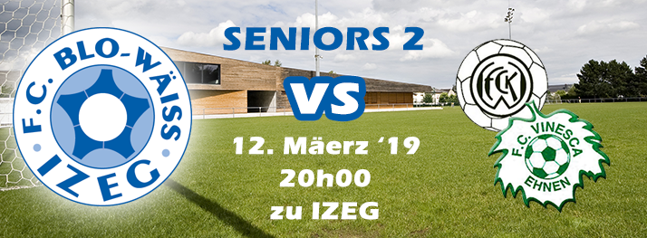 SENIORS 2 - IZEG - Ent. Wuermer/Einen