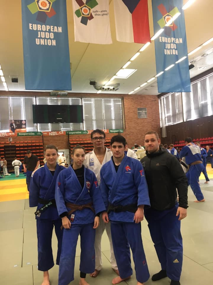 Interreg Judo Team - OTC Nymburk 04-07.03.2019