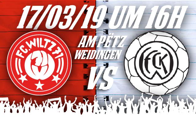 FC Wooltz 71 vs FC Koeppchen Wormeldange