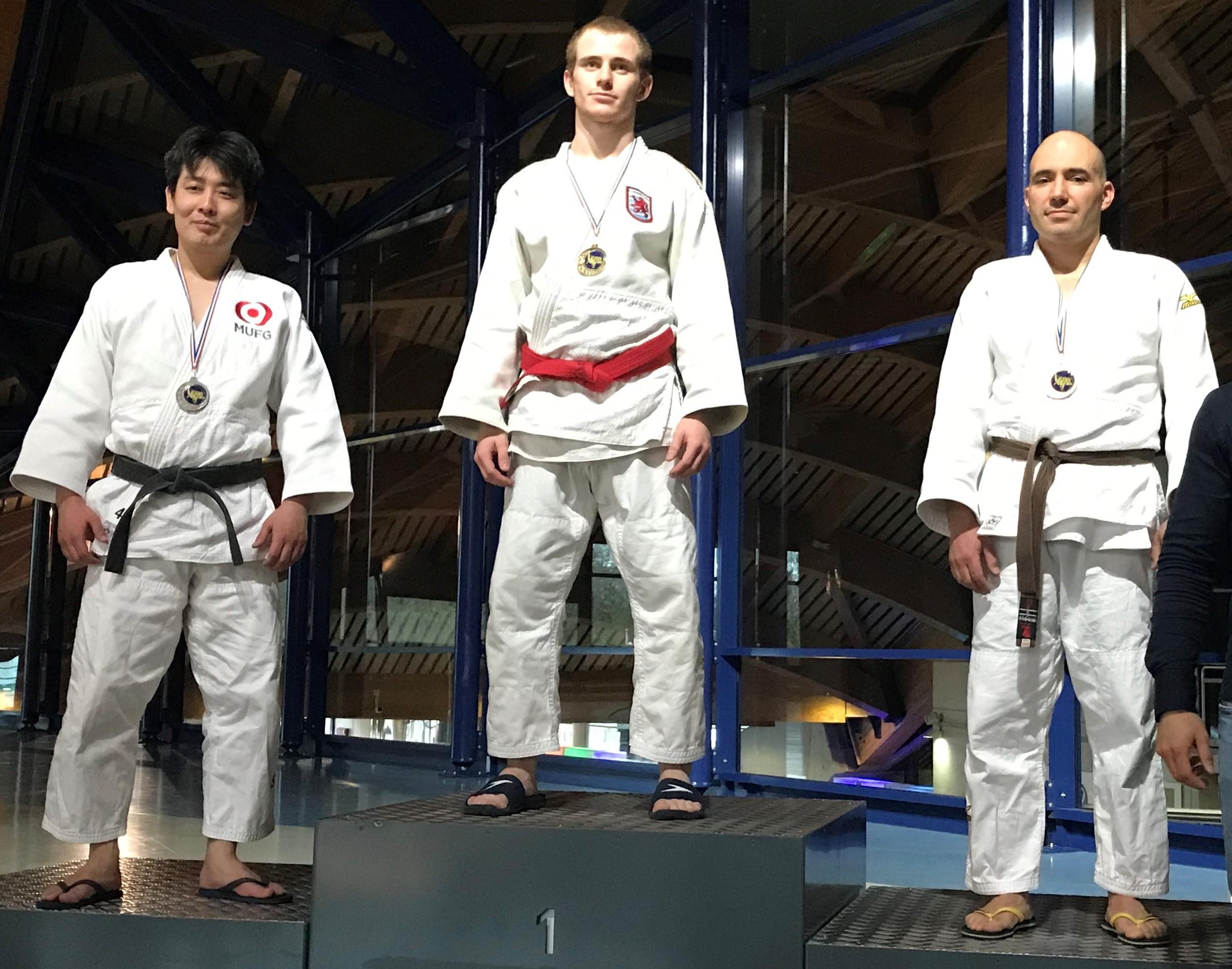 Fünf Titel für den Judo Club Stroossen