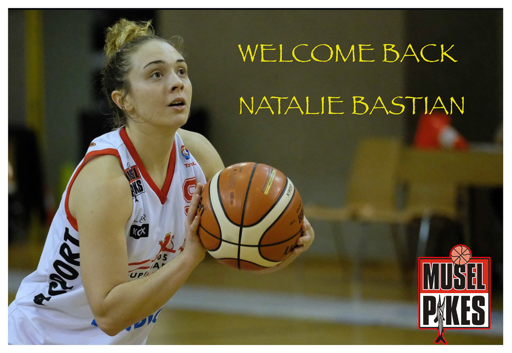 WELCOME BACK NATALIE BASTIAN