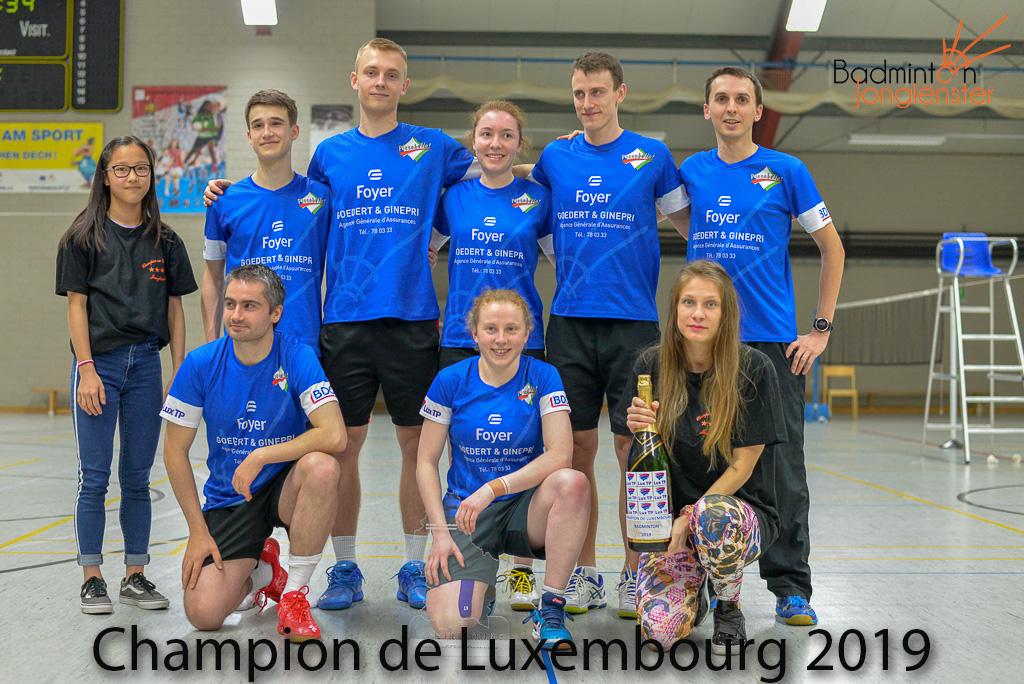 Champion de Luxembourg 2019