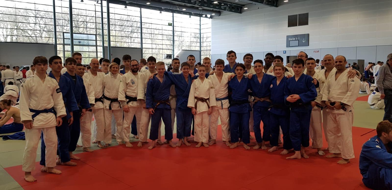 Interreg Judo Team - Training Camps Bremen & Bad Blankenburg 2019